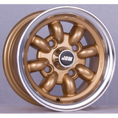 10x5 gold mini alloy wheels